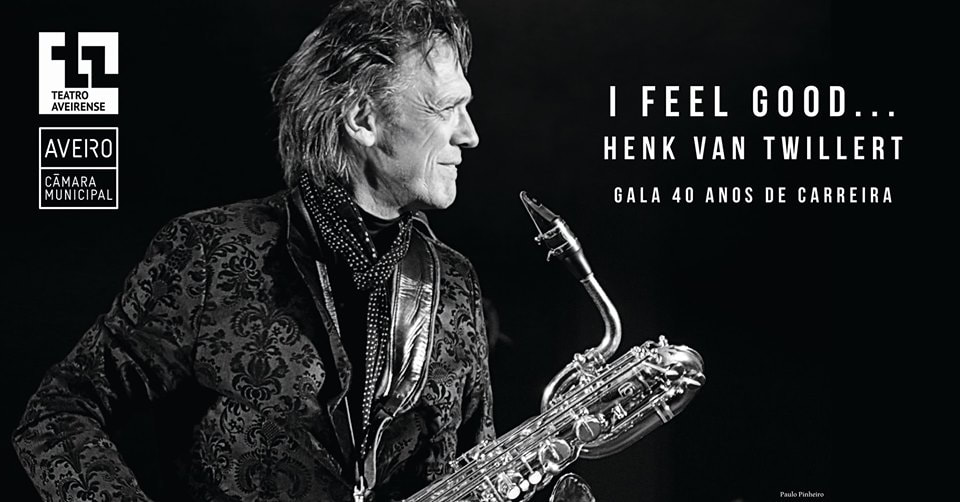 Henk van Twillert celebrate his 40 years career at teatro Aveirense on the 30 November 2019, 21.30